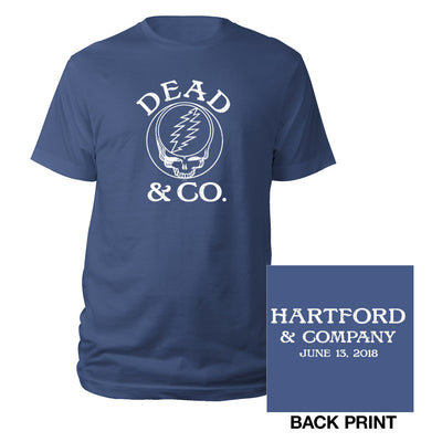 Hartford Dead Event Tee-Dead & Company