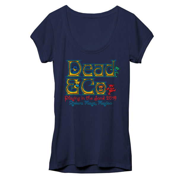 Playing in the Sand Rivera Maya Ladies Event Tee-Dead & Company