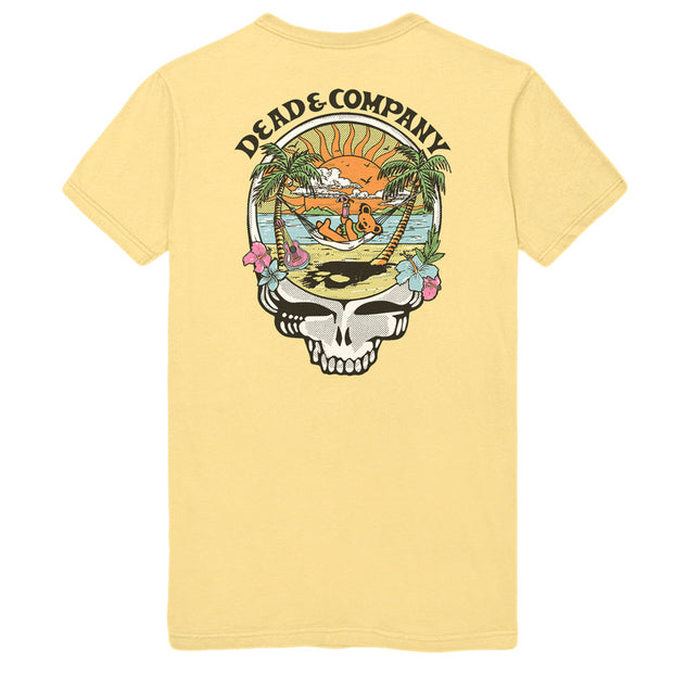 Playing in the Sand Rivera Maya Event Tee-Dead & Company