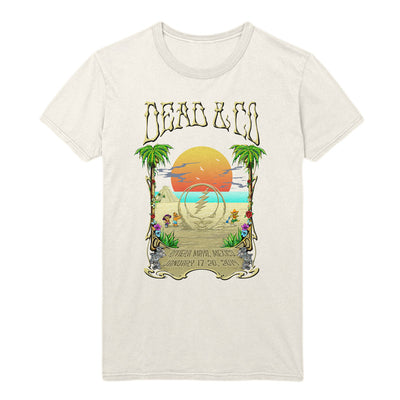 Playing in the Sand Rivera Maya Photo Event Tee-Dead & Company