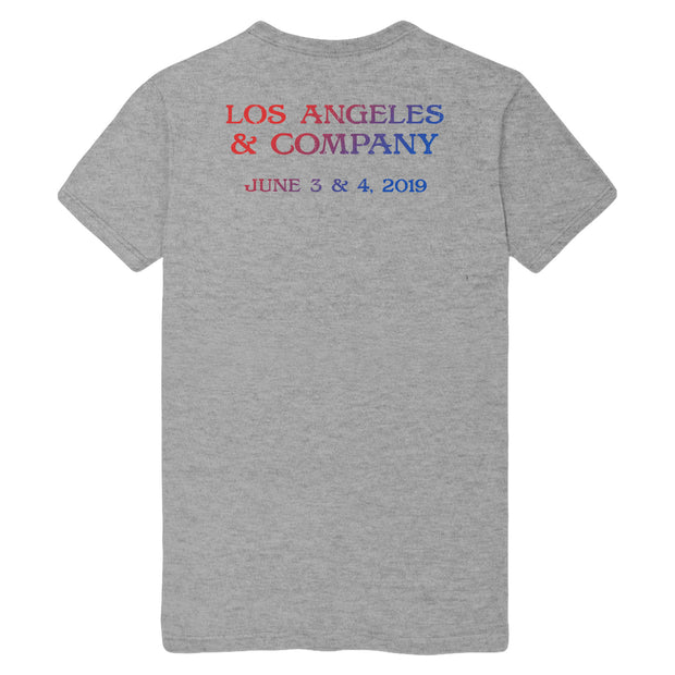 2019 Hollywood Bowl, Los Angeles, CA Exclusive Event Tee-Dead & Company