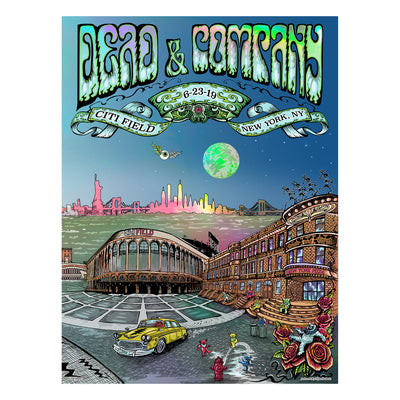 New York City, NY Exclusive Event Poster-Dead & Company