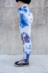 TIE DIE DIY – Acid Cumulus – Leggings