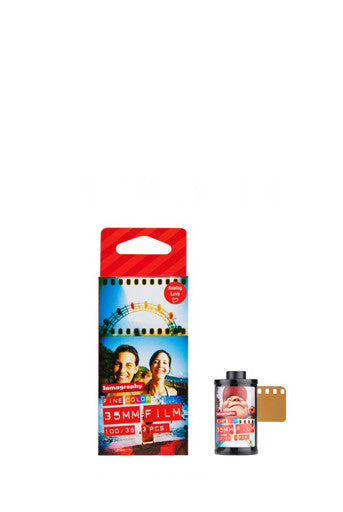 LOMOGRAPHY - FILM 100 ISO 35 mm (3 PACK)