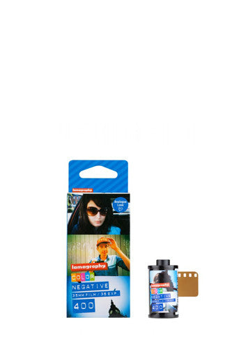 LOMOGRAPHY - FILM 400 ISO 35MM (3PACK) - COLOR NEGATIVE