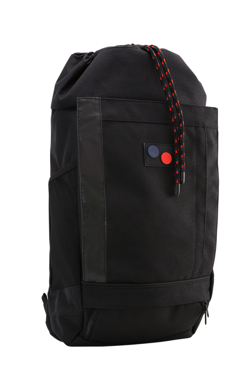 pinqponq – Blok Large Backpack – Licorice Black Bold