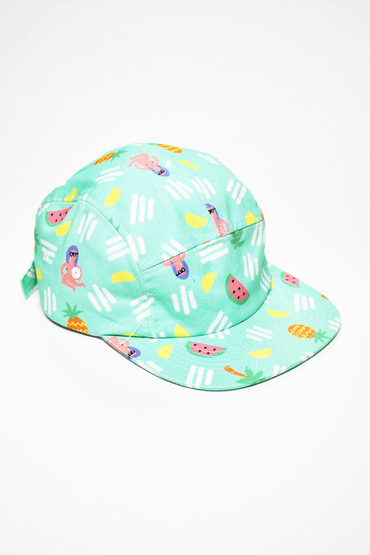 Lazy Oaf - Palm Tree 5 Panel Cap