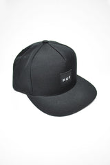 HUF - BOX LOGO SNAPBACK - BLACK