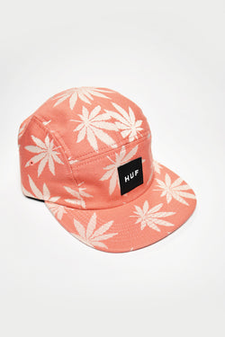 HUF -  PLANTLIFE VOLLEY CAP - SMOKE PINK