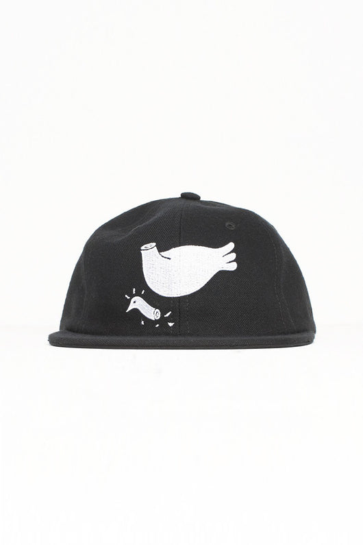 Rockwell by Parra –  6 panel hat pigeon