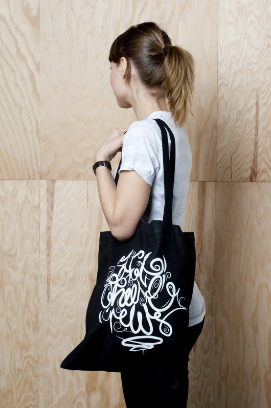 Hot Cheese Crew - Calligraphic Bag