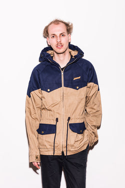 Turbokolor - Ewald Plus Jacket - Beige/Navy
