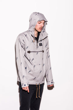 Turbokolor - Freitag Jacket - Grey/Torch Print