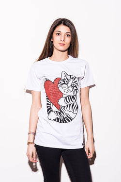 Abandon Ship Apparel – CAT LOVE T-Shirt