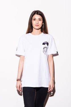 Dudes Factory – LP T-Shirt - White