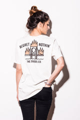 Dudes Factory – No Regrets T-Shirt Off White