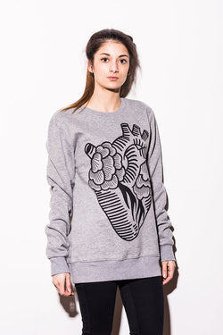 Abandon Ship Apparel – LARGE HEART Sweat