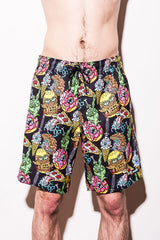 NEFF – GORY FOOD HOT TUB SHORT - MULTI