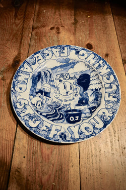 Dudes Factory – Breakfat Plate - Blue