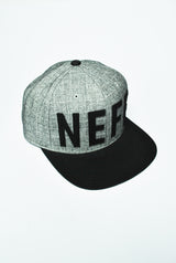 Neff - Brother Cap - Grey/Black