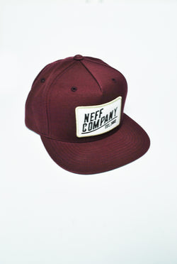 Neff - Station Cap - Burgundy