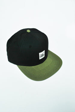 Cleptomanicx - Badger 2 Snapback - Black/Oliv