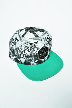 Neff - Battlecat - Snapback - Black and withe