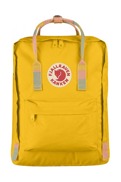 FJÄLLRÄVEN – Kånken – Warm Yellow-Random Blocked