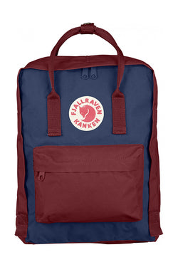 FJÄLLRÄVEN – Kånken – Royal Blue/Ox Red