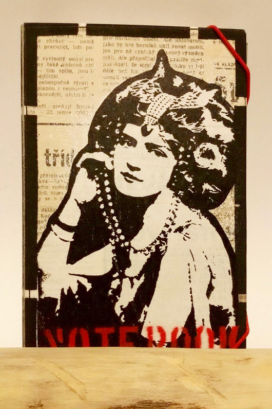 Deafmessanger – Notebook – Lady fashion