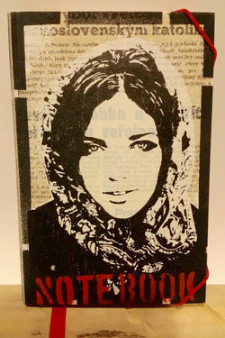 Deafmessanger – Notebook – Scarf girl