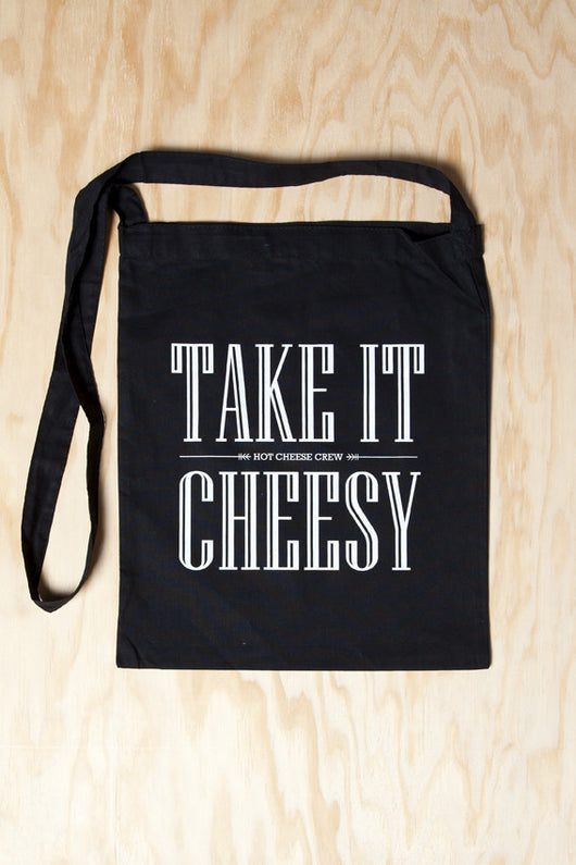 Hot Cheese Crew - Take it Cheesy Bag Black lang