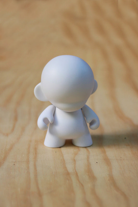 Munnyworld 4'' Mini Munny White