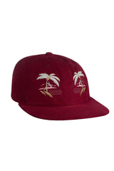 HUF - SOUVENIR 6 PANEL - BURGUNDY