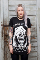 Abandon Ship Apparel – Keeping it Grim – UNISEX TSHIRT