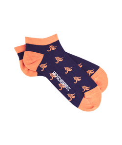 RICH AND VIBRANT - BANANAS CREW LOW SOCKS