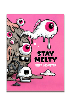 Urban Media Buff Monster - Stay Melty Buch