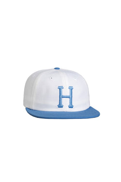 HUF - Claccic H 6 Panel Cap- Carolina blue