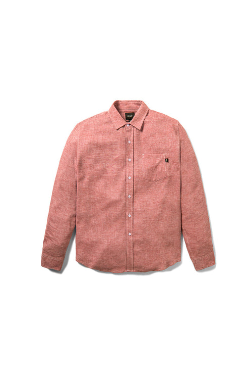 HUF - Course L/S Chambray