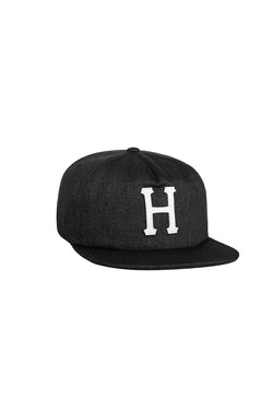 HUF - Claccic H 6 Panel Cap- Denim