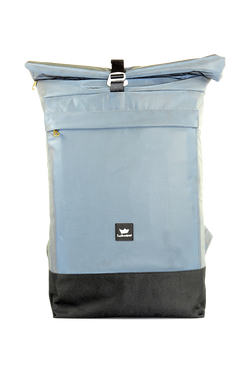 Freibeutler - Courier Bag - Anthrazit/Silver