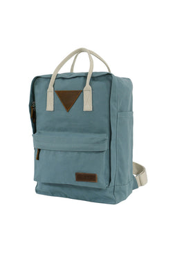 Mela Wear - Ansvar II Backpack - Petrol - Fairtrade & GOTS zertifiziert