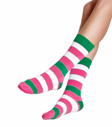 RICH AND VIBRANT - ORIGINAL STRIPE A CREW SOCKS