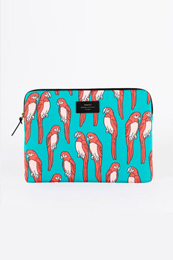 WOOUF - PARROTS LAPTOP SLEEVE 13''