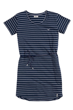 CLEPTOMANICX - HARBOUR KLEID (DARK NAVY)