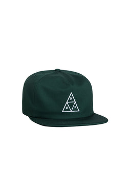 Copy of HUF - Triple Triangle Snapback - Dark green