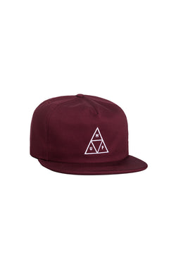 HUF - Triple Triangle Snapback - Wine