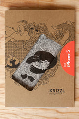 KRIZZL - Case+Block für iPhone 5