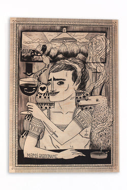 Sheree Domingo - KALINGA Woodprint