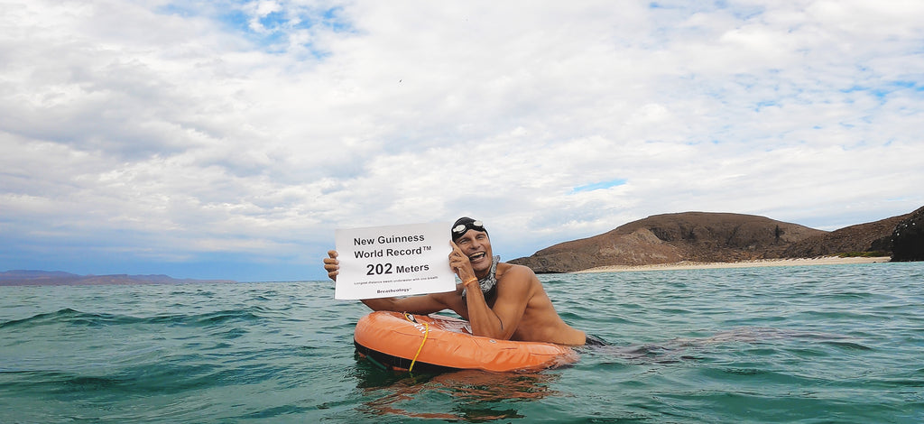 In November 2020, Stig Severinsen smashed the previous open water distance swim world record.